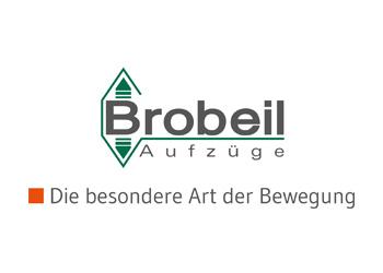 Logo Firma Brobeil Aufzüge GmbH & Co.KG in Esslingen am Neckar